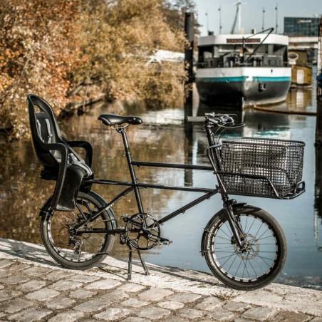 Panier vélo en maille ostréicole