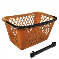 Shopping basket for bike