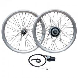 Wheel Set with internal gears hub 8 Speeds