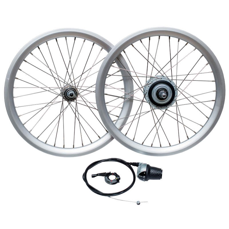 Wheel Set with internal gears hub 8 Speeds
