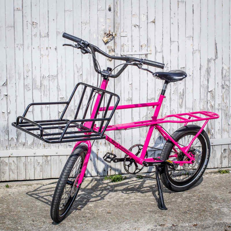 Porteur couleur néon pink