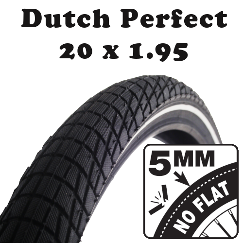 Dutch Perfect anti crevaison 20x1.95